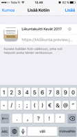 Mobiilikuitin tallennus 3